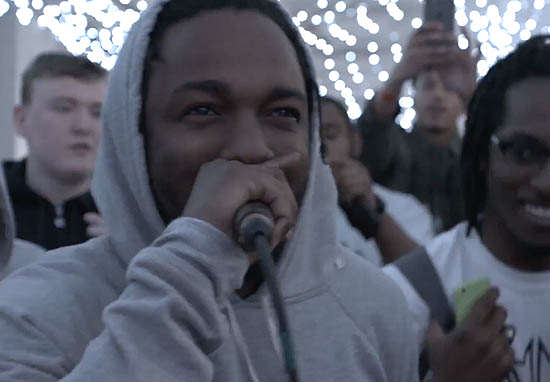 Watch Kendrick Lamar Steal Mic And Start Battling Rappers In Manchester