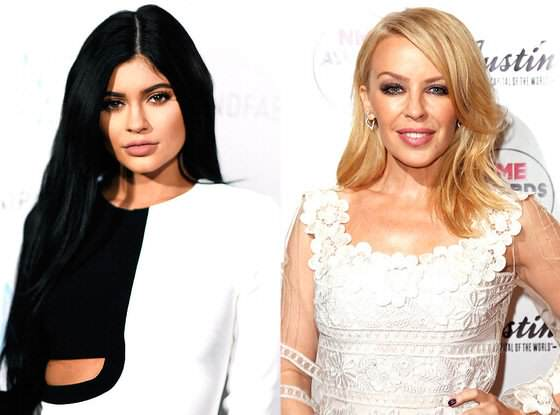 kylie1 Kylie V Kylie: The Battle Between Minogue And Jenner Heats Up