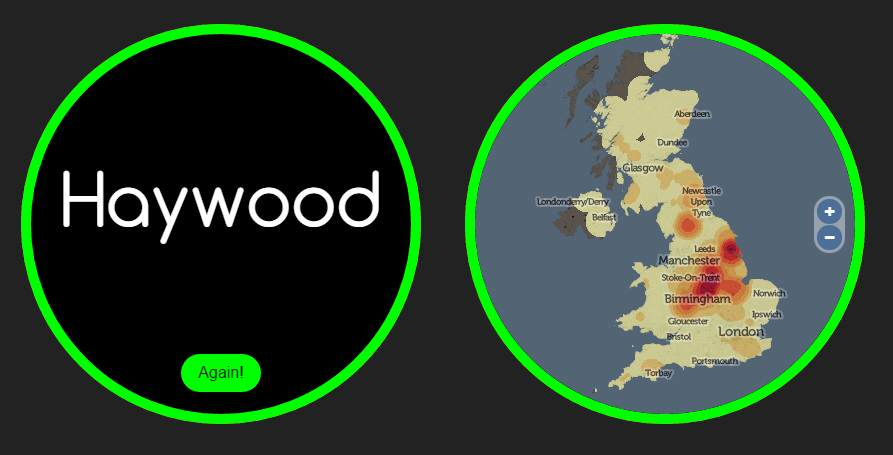 name haywood 1 This Website Knows Where Youre From And How You Met Your Partner