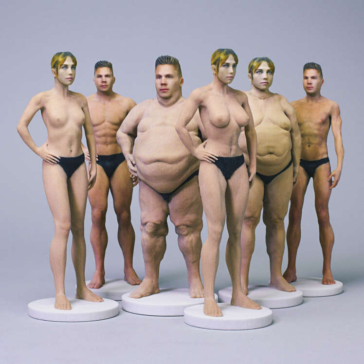 nudeee You Can Now Buy A Barbie Sized Doll Of Your Naked Self