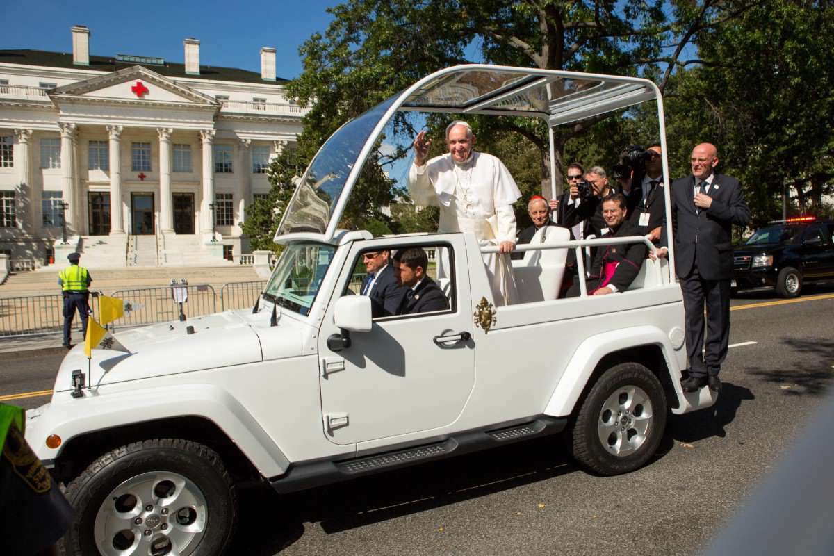 pope francis jeep 1200x800 The Pope Is Joining Instagram, What Can We Expect?