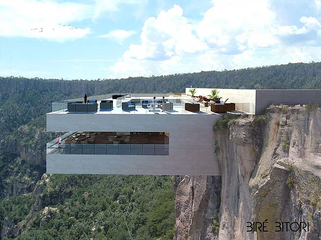 restaurant 0 Would You Dare Eat At This Restaurant Hanging Over A Canyon?