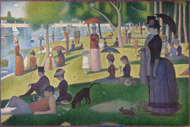 seurat a sunday on la grande jatte This New Photographic Memory Test Will Ruin You