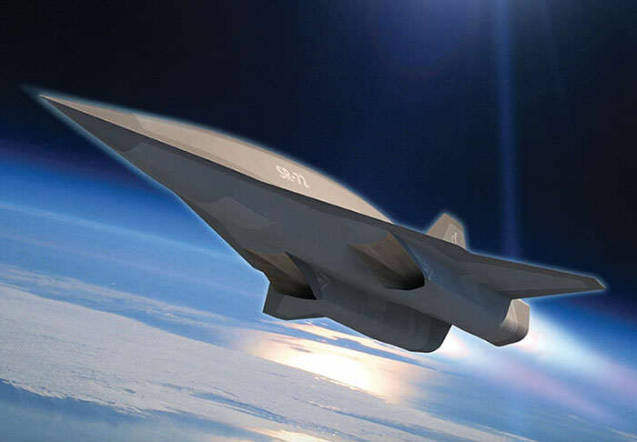 sr1 Plane That Travels Six Times The Speed Of Sound Could Be Ready Very Soon