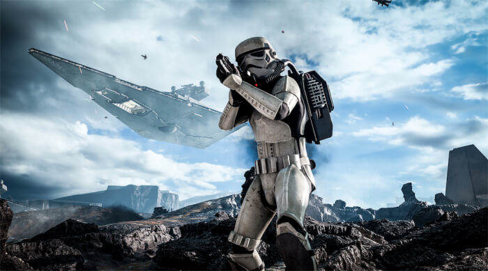 star wars battlefront stormtrooper easter egg 700x389 Sony Suggest Star Wars Battlefront Is The Game To Sell You On VR