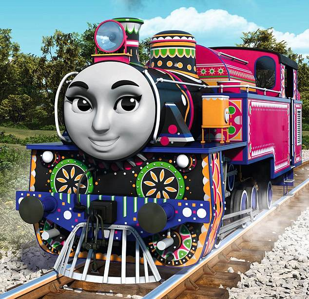thomas3 Daily Mail Readers In Meltdown Over Multicultural Thomas The Tank Engine