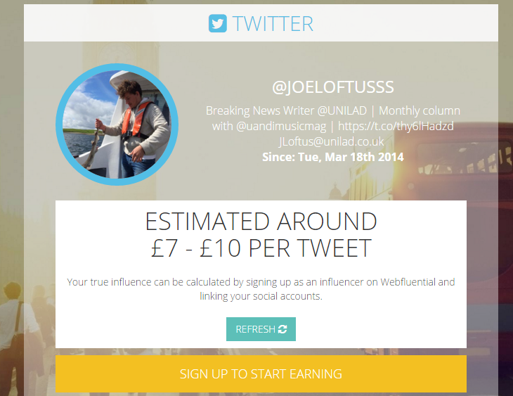voila New Calculator Reveals How Much Money You Can Make From A Tweet
