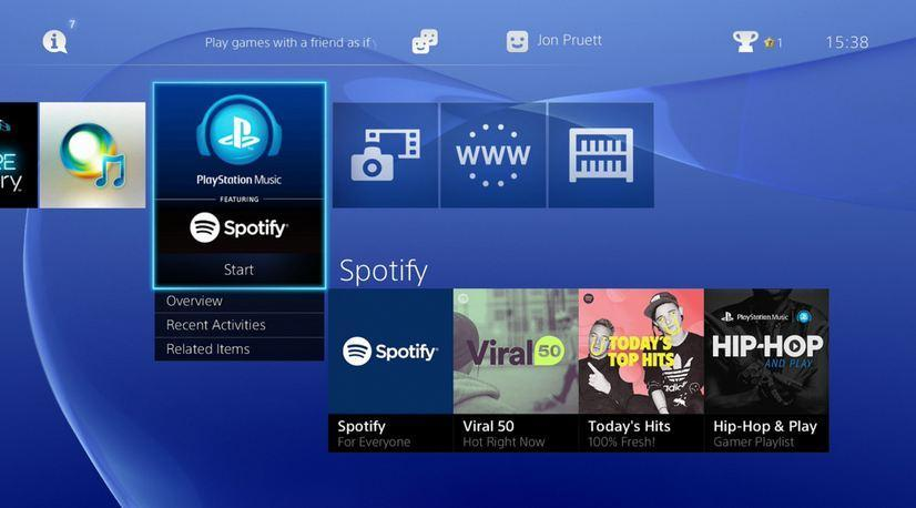 3049098 spotify PlayStation Music Reveal Some Surprising Stats From Their First Year