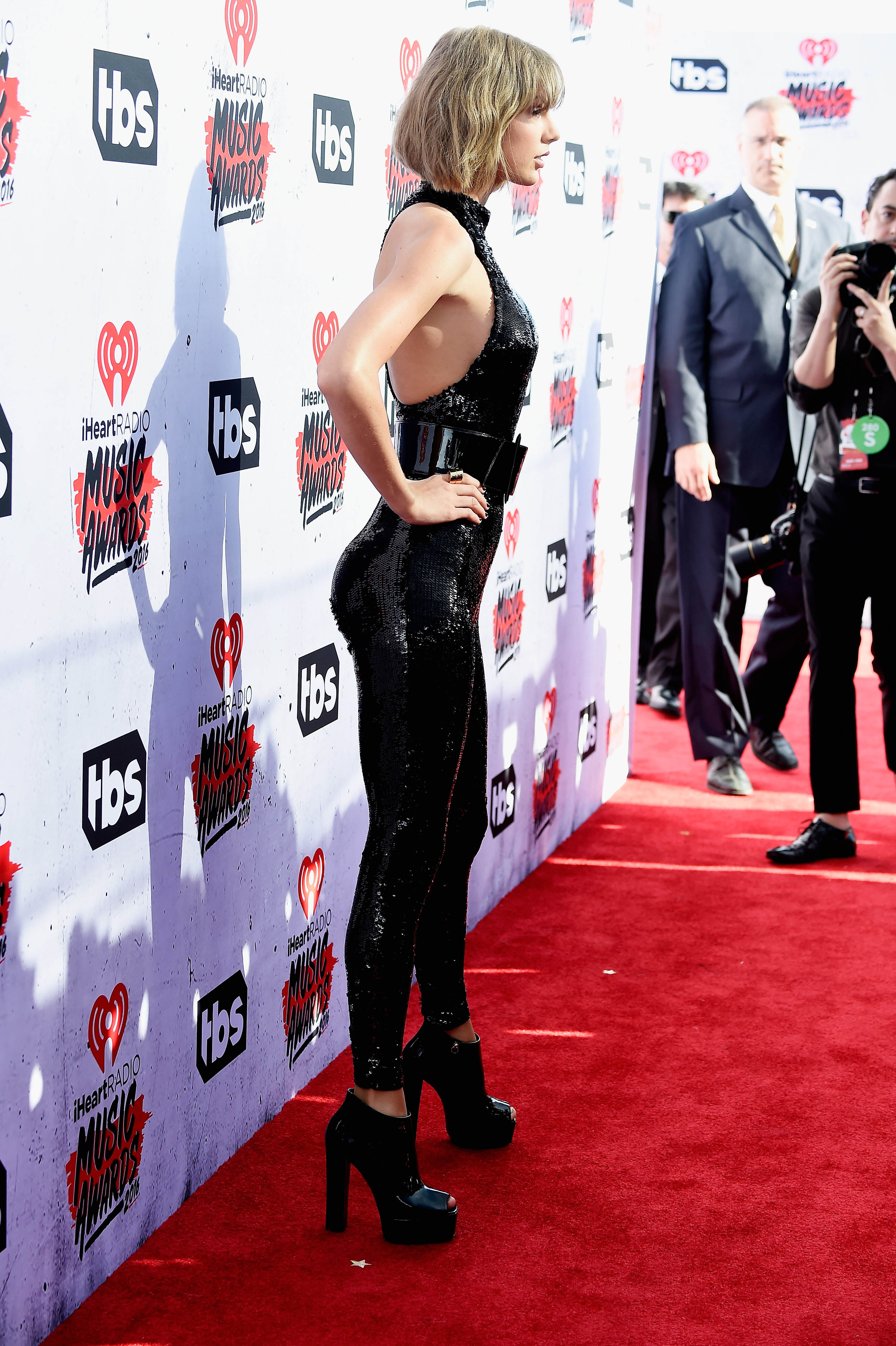 GettyImages 518970848 People Are Accusing Taylor Swift Of Getting Bum Implants Because Of This Photo