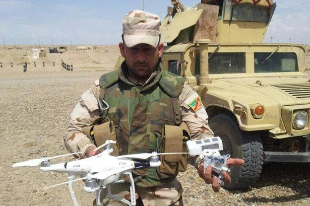 ISIS DRONE ISIS Step Up Military Capabilities With Frightening New Development