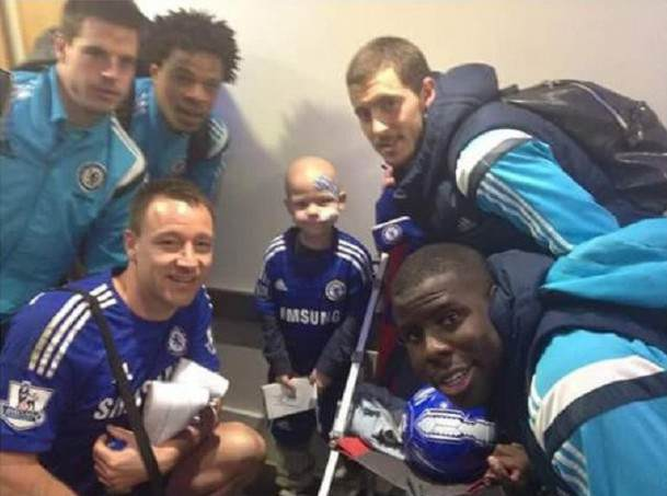JT tommi cfc John Terry Shows Rare Moment Of Class With Touching Gesture