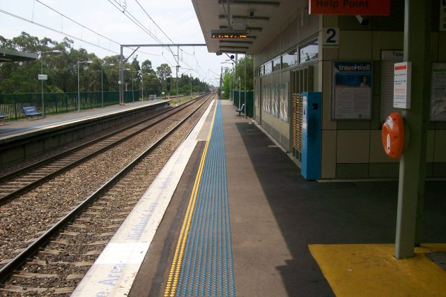 Macquarie fields railway station platform 2 640x426 This Station Haunted By Ghost Of Teen Girl In Bloody Clothes Is Massive NOPE