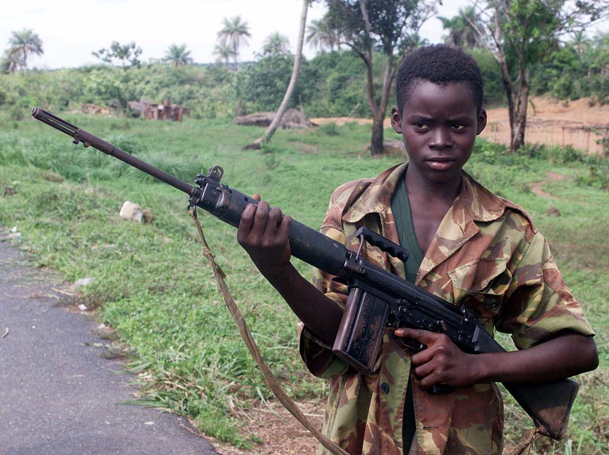 PA 2897855 UK Company Hired Former Child Soldiers To Fight As Mercenaries In Iraq