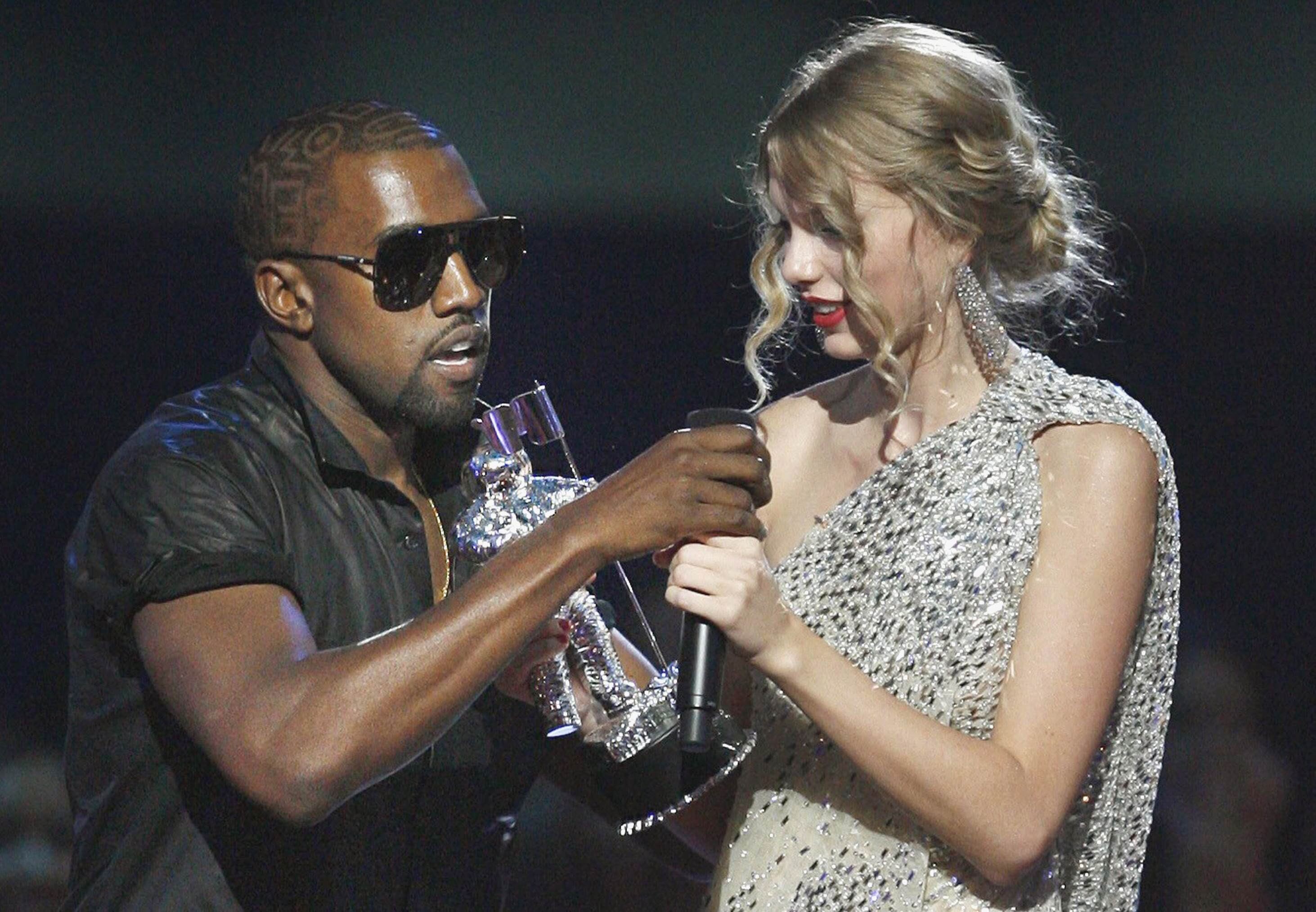 PA 7805494 Kanye West Is Speaking Out About Taylor Swift Again