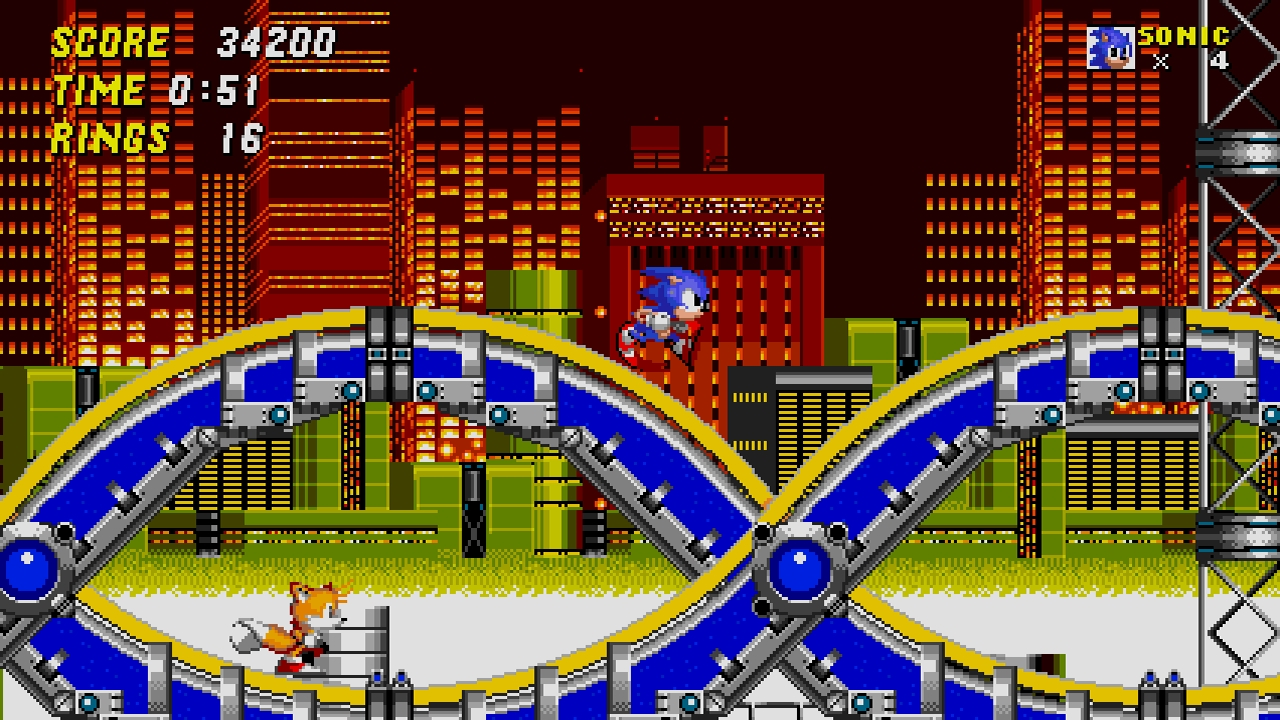 Sonic 2 1 Steam Gets Official SEGA Mega Drive Emulator With Mod Support
