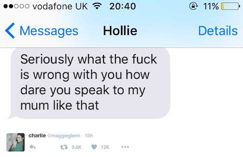 charlie3 This Girls Response To Her Homophobic Auntie Is Hilarious, And Its Going Viral