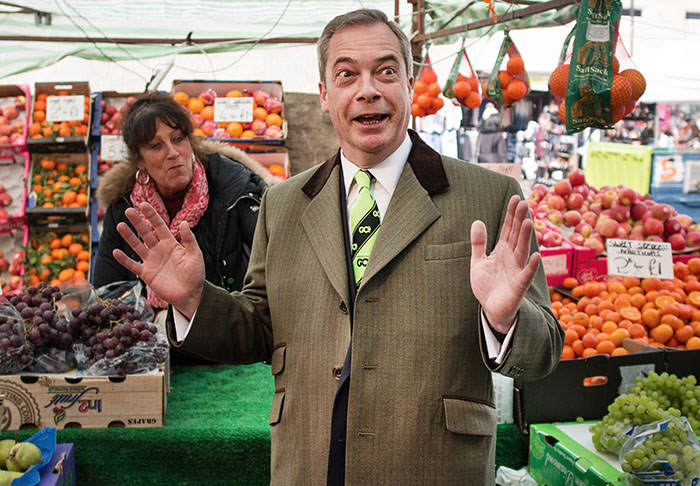 farage3 David Cameron Wants Politicians To Publish Tax Returns, Nigel Farage Says No