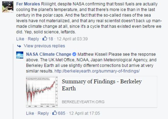 fb2 NASA Is Shutting Down Global Warming Deniers On Bill Nyes Facebook