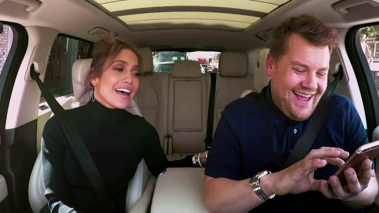 j lo corden 1 J Lo Reveals How Leonardo DiCaprio Reacted To That James Corden Text