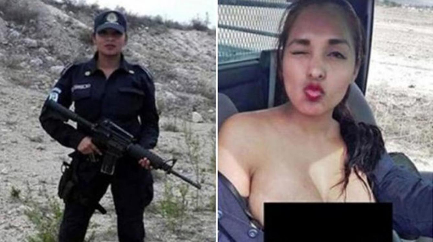 nadia2 This Topless Photo Just Got Mexican Policewoman Suspended