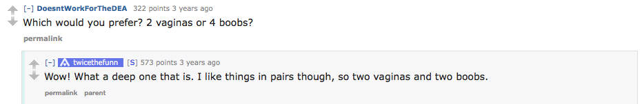 reddit4 Guy Reveals What Its Like To Have Sex With Girlfriend With Two Vaginas