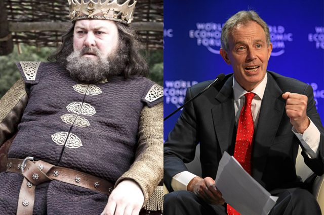 robert and tony 640x426 Meet The Politicians Whose Careers Mirror Game Of Thrones Characters