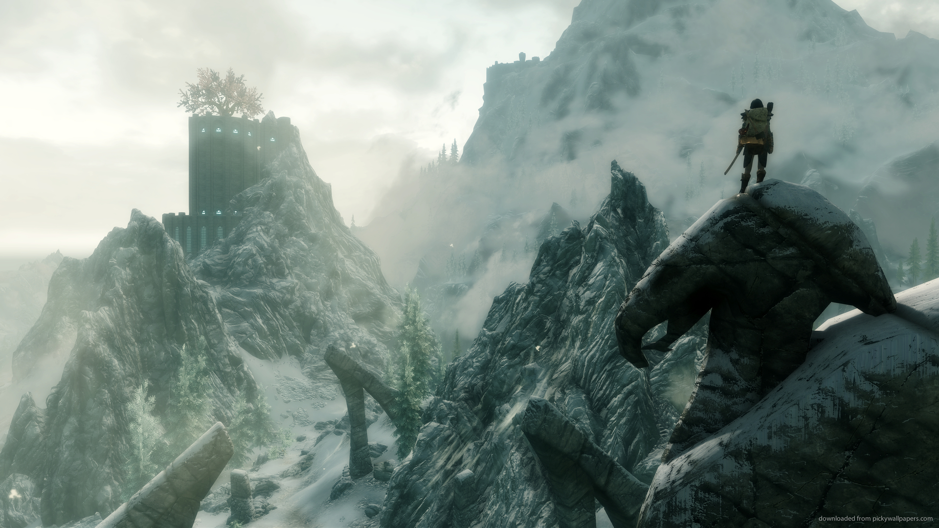 The 10 Greatest Xbox 360 Games Of All Time skyrim1 1