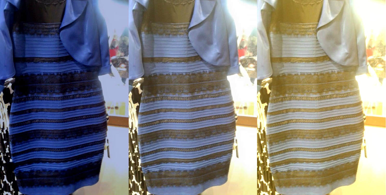 the dress This Weird Optical Illusion Can F*ck With Your Brain For Months