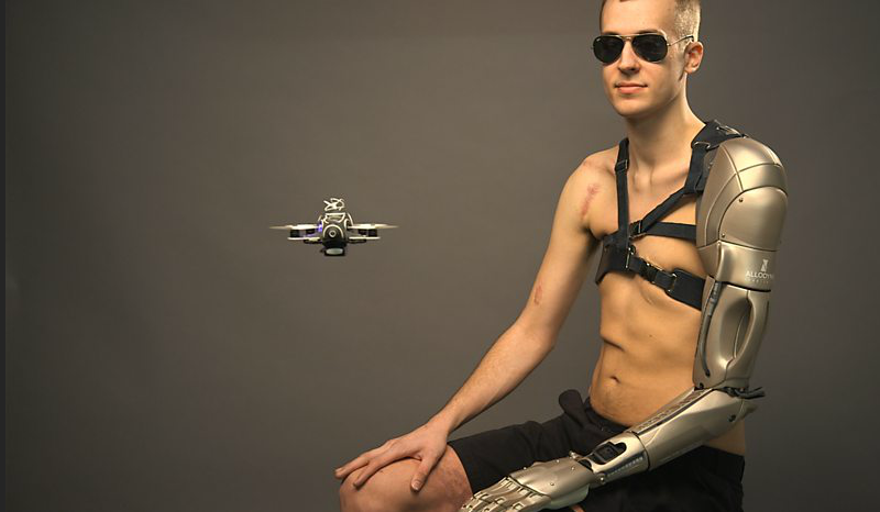 146358766335 Meet The Metal Gear Man And His Incredible Bionic Arm