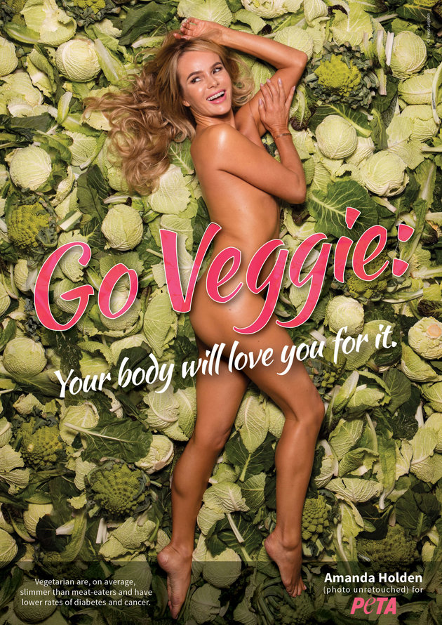 Amanda Holden Got Naked To Promote Vegetarianism In New Advert