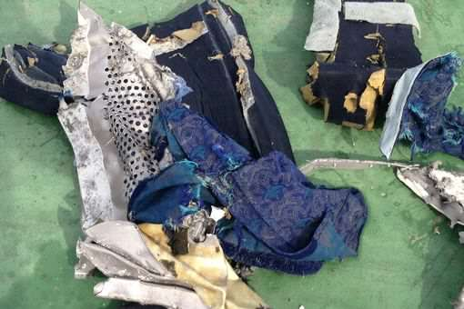 Debris of the Egyptair crash 2 1 Human Remains Suggest New Evidence For EgyptAir Crash