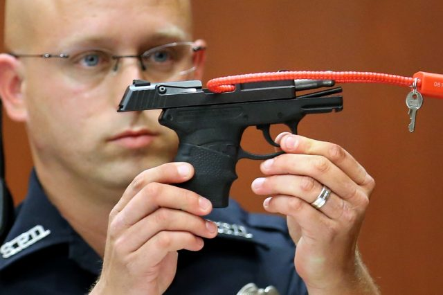 GettyImages 171790211 640x426 The Man Who Killed Trayvon Martin Plans On Auctioning The Gun For The Most Ridiculous Reasons