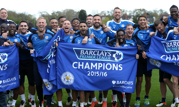 Leicester title win getty plumb images Leicester City Winning The Premier League Gives Football Hope
