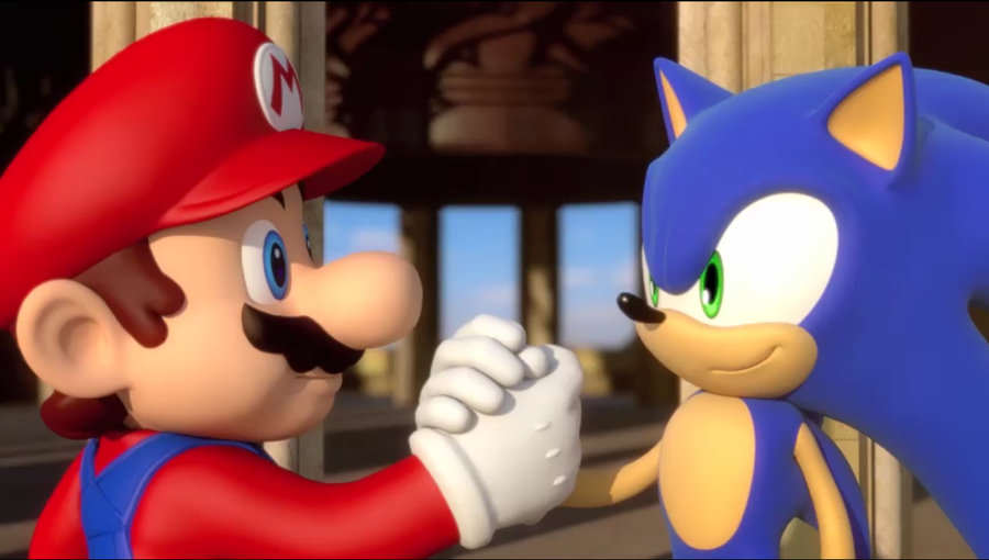 Mario Sonic Together1 Why Its Time We Chilled Out Over Videogame Reviews