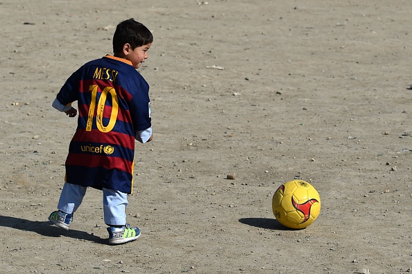 Young Messi Fan Who Went Viral Forced To Flee Country For Safety Messi fan 2 getty