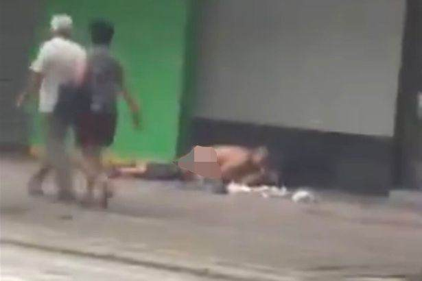 Public sex Couple Have Sex On Street In Broad Daylight In Shocking Video
