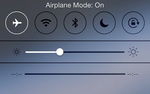 Why You Should Switch Your Phone To Airplane Mode On A Flight Screen Shot 2016 05 17 at 18.27.05