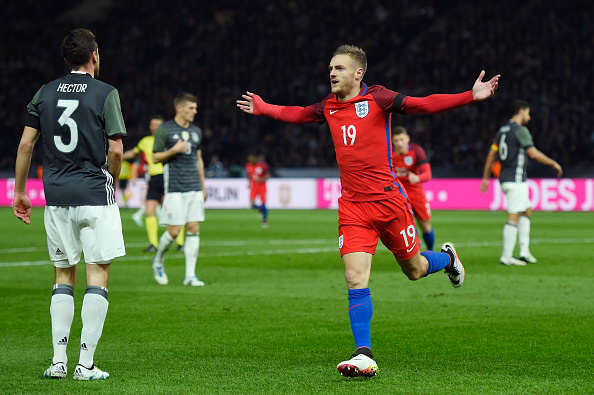 Vardy mike hewitt getty Why Leicesters Incredible Season Gives England Hope