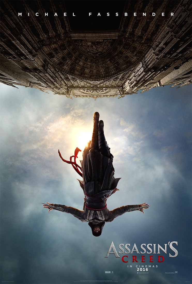 assassins creed poster Assassins Creed Movie Gets First Trailer