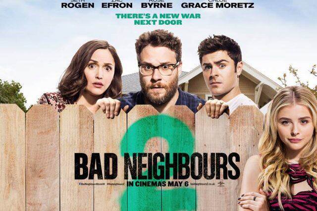 bad neighbours 2 quad 640x426 Bad Neighbours 2 Pretty Much The First Film Again, But Not All Bad