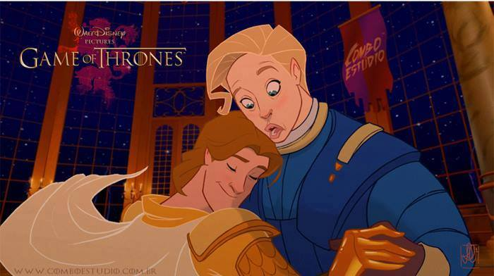 Artist Re Imagines Game Of Thrones As Disney Film And Its Glorious disney4
