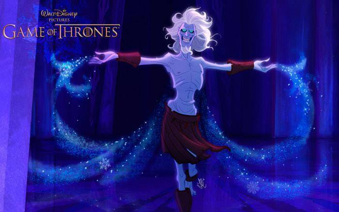 Artist Re Imagines Game Of Thrones As Disney Film And Its Glorious disney7