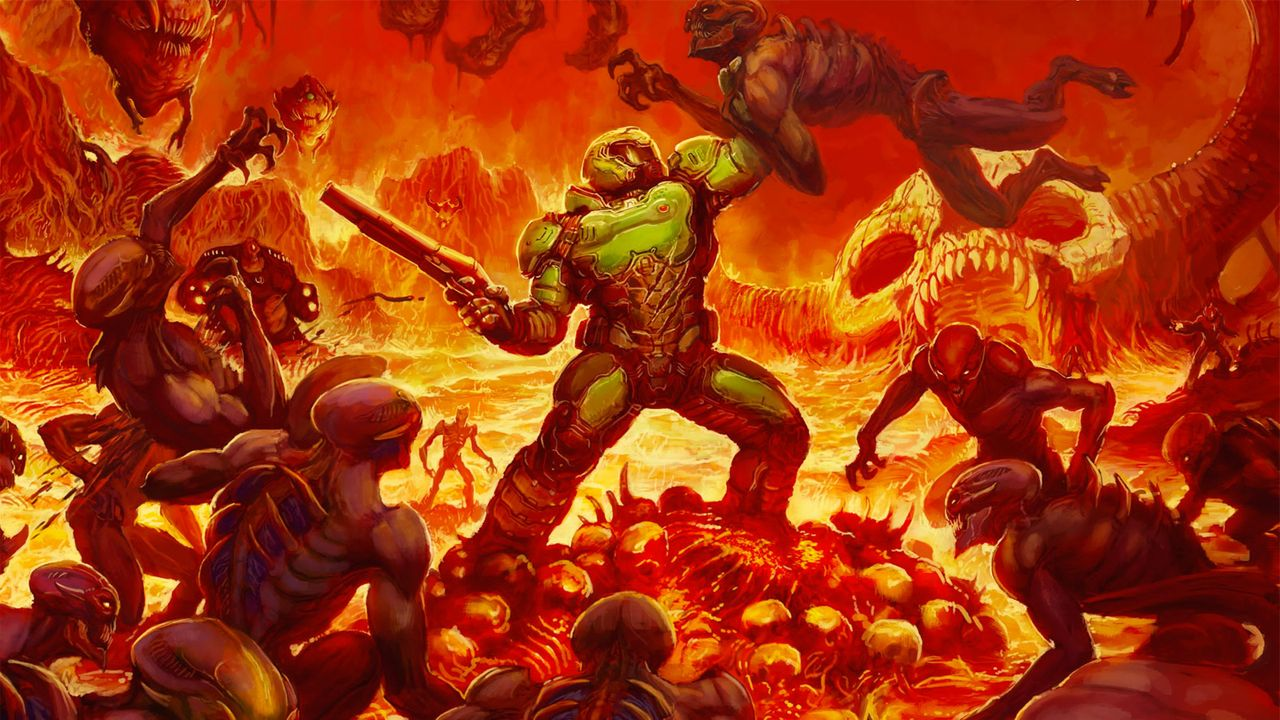 DOOM Is Being De Made In Classic Games By Some Modding Wizards doom alt boxart.0.0