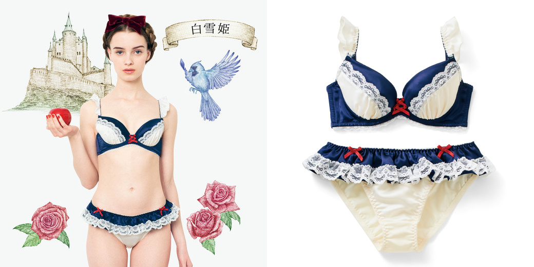 fairy tale underwear 01 Sexy Fairytale Lingerie Is Here, Because Japan