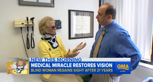 good 1 Womans Eyesight Returns After 20 Years In Weirdest Way Possible