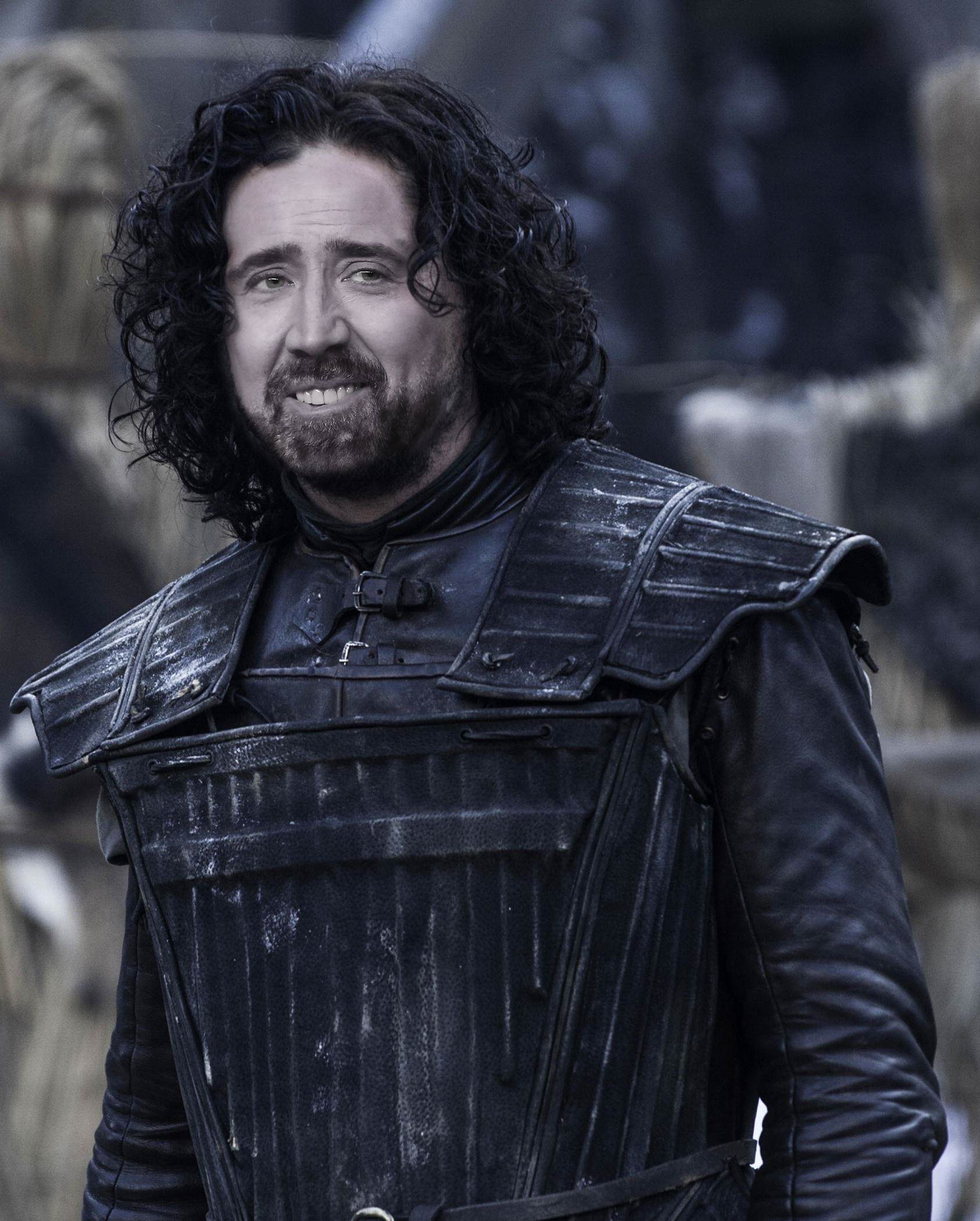 jon snow Nicolas Cage As Every Game Of Thrones Character Is Hilarious