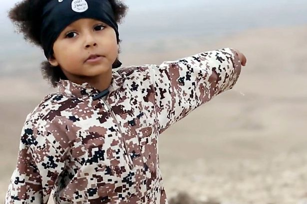 kid isis British Soldier Reveals ISIS Are Now Using Child Suicide Bombers