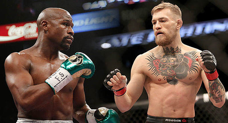 Floyd Mayweather Sends Fans Into Frenzy With Latest Conor McGregor Tease mcgregor mayweather new FB 1 1