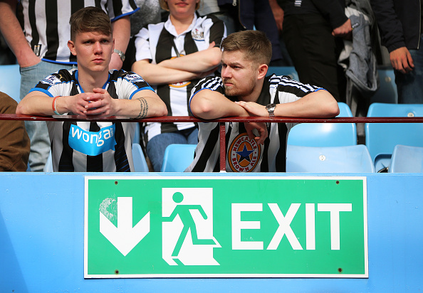 Newcastles Relegation Is Bad For The Premier League, And Heres Why nufc fans james baylis getty