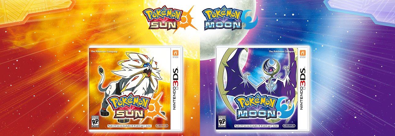 original 2 First Pokemon Sun/Moon Trailer Reveals New Starter And Legendary Monsters